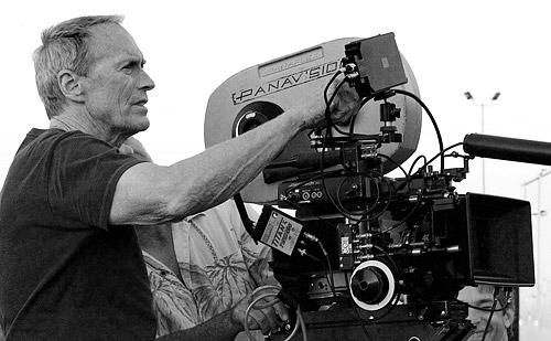 "Clint Eastwood directing ""Million Dollar Baby"""