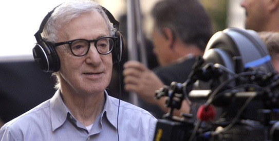 "Woody Allen directing ""To Rome With Love"""