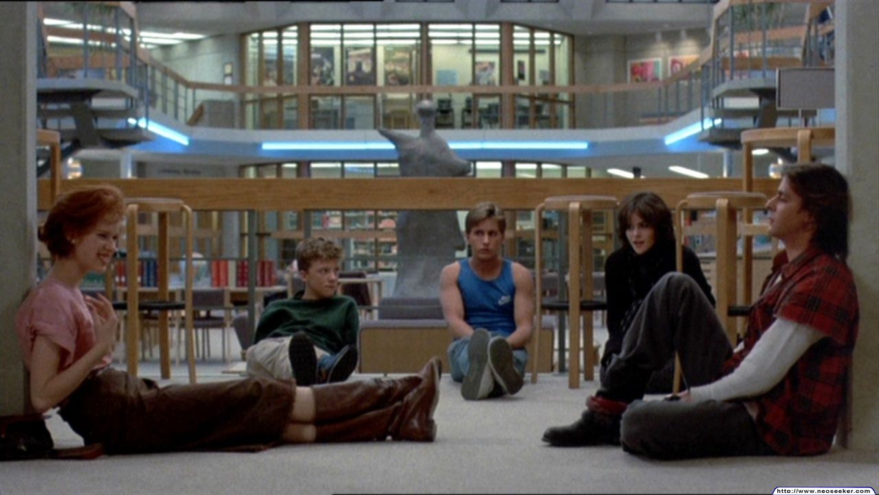 what date did the breakfast club meet for detention