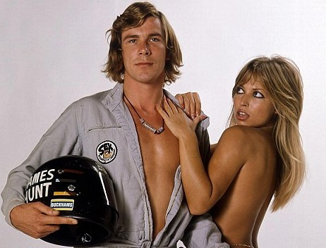 James Hunt in the 70s. A modest man, by all accounts.
