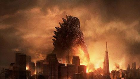 Cool Kaiju don't look at explosions.