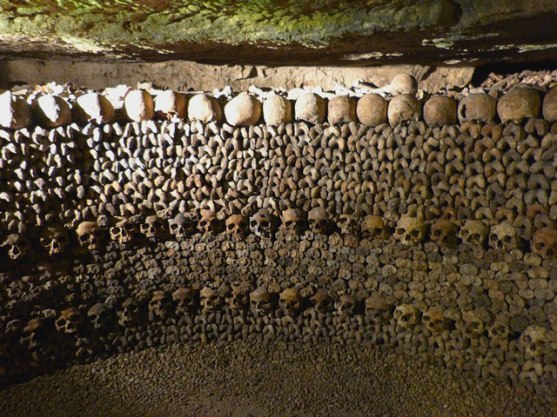 Is this the Parisian Catacombs or Ozzy Osbourne's bedroom?