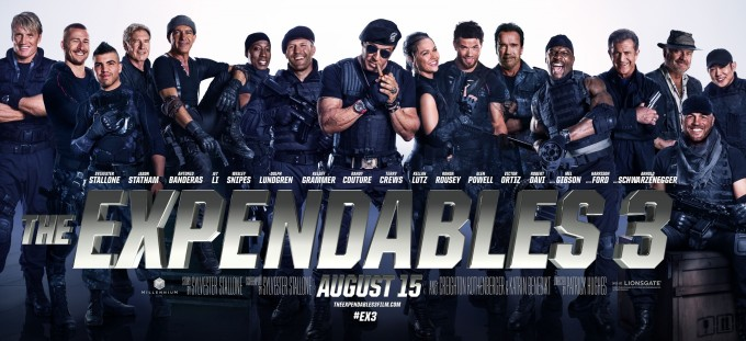 Expendables 3 [large poster]