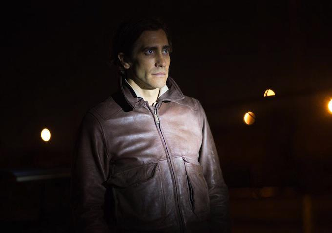 Jake Gyllenhaal, not crawling, even though it's night time