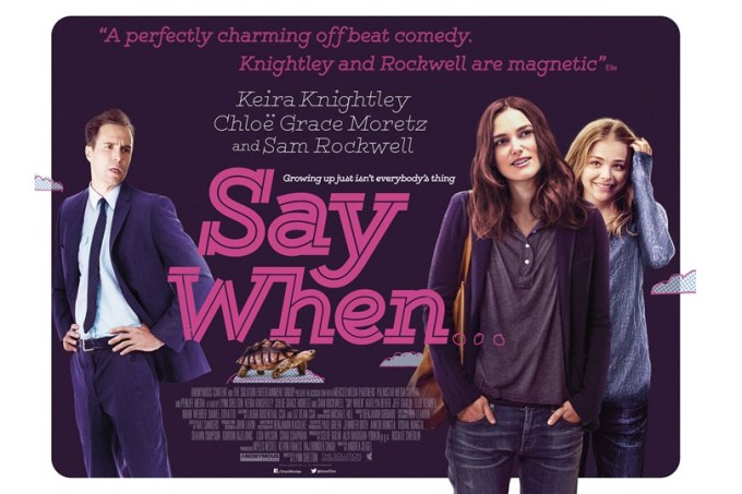 Say when [Poster]