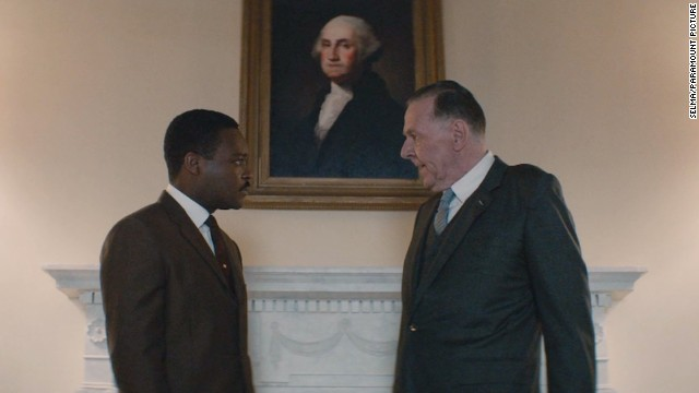 Tom Wilkinson gives David Oyelowo the full 'Johnson treatment'