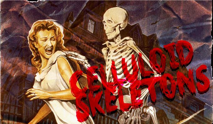 celluloid skeletons banner