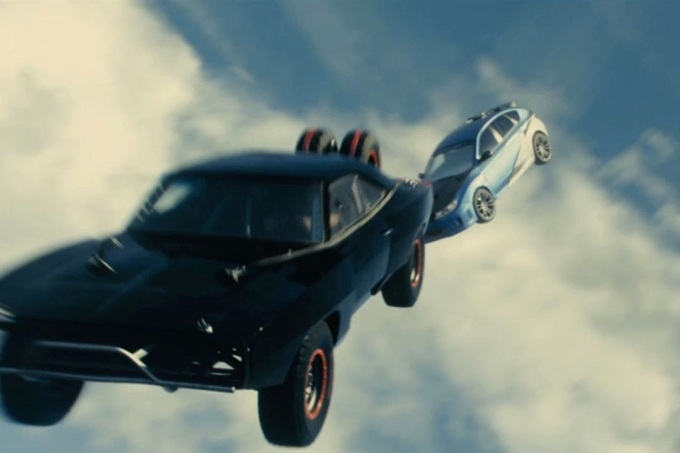 I wasn't making it up about the whole sky-diving cars thing