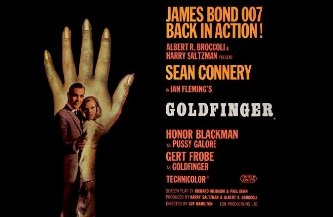 3a - Goldfinger Poster