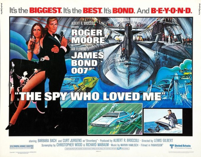 The Spy Who Loved Me [Poster]