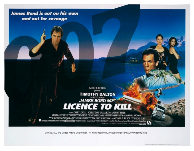 Licence to Kill [poster]
