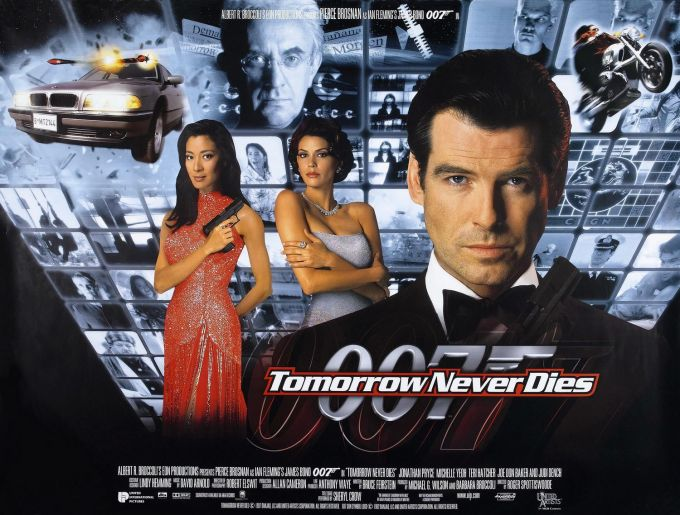 Tomorrow Never Dies [Poster]