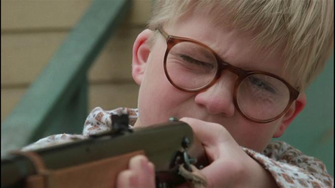 Now I have a BB gun... Ho! Ho! Ho!